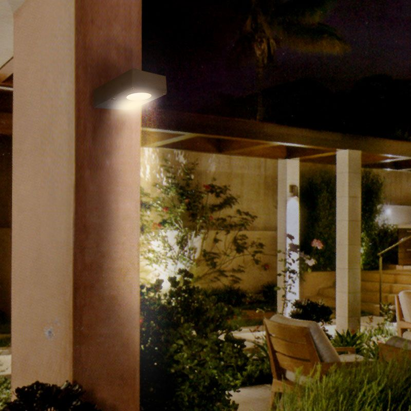 applique led murale ext rieur dowlight design moderne. Black Bedroom Furniture Sets. Home Design Ideas