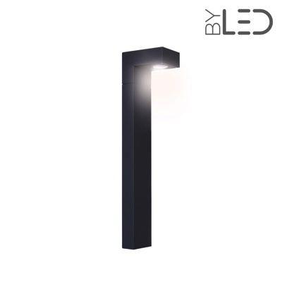 Borne LED extérieure Anthracite - 6 Watts - PROME - 80 cm