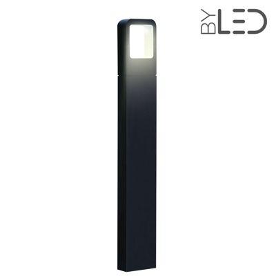 Borne LED extérieure Anthracite - 6 Watts - ICONE - 80 cm