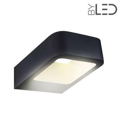 Applique LED murale extérieure anthracite - 6W - 230V - ICONE
