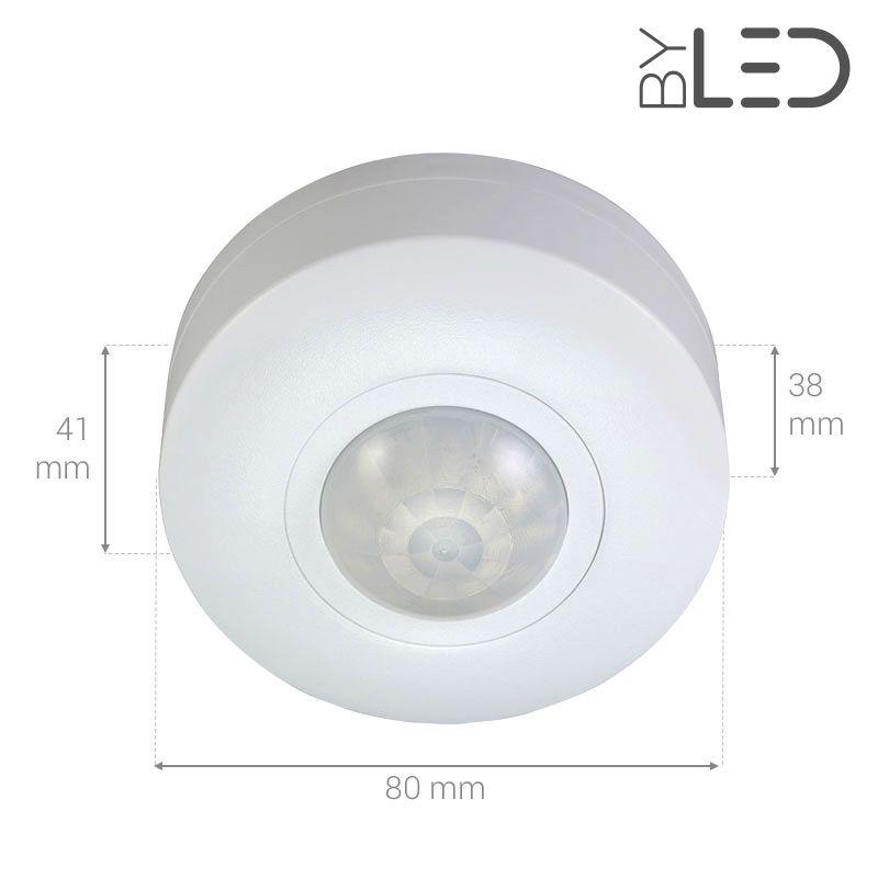 D tecteur de mouvement infrarouge plafond groom gr 02 - Detecteur de mouvement encastrable plafond ...