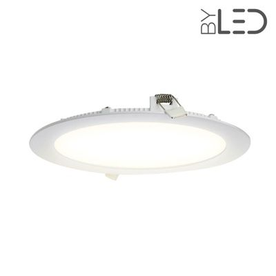 Dalle LED ronde 18 W encastrable - extra plate - SUNNY-18
