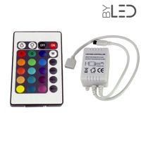 Télécommande RGB + contrôleur infrarouge