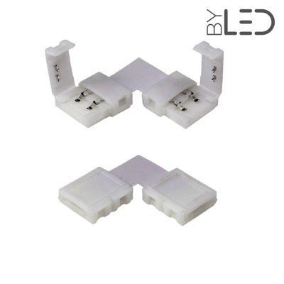 Connecteur ruban LED Mono 10 mm câble 15 cm + click