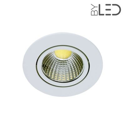 Spot led encastrable et orientable 5w cobra 5 byled for Spot encastrable plafond exterieur