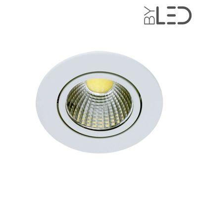 Spot led encastrable et orientable 5w cobra 5 byled for Spot led encastrable exterieur plafond