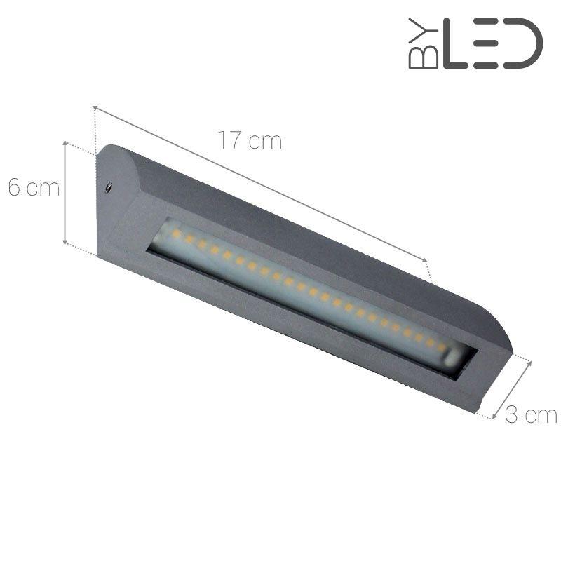 Applique LED murale pour éclairage extérieur 6W ByLED