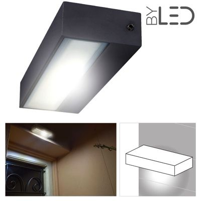 Applique led murale 12w en aluminium ext rieur ou for Applique exterieur etanche