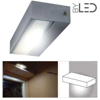 Applique LED murale étanche rectangulaire 12W - 230V - KRISS-12