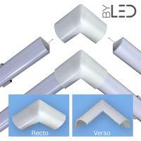 Jonction d'angle pour Profilé LED CRAFT-A01 – rentrant 270°