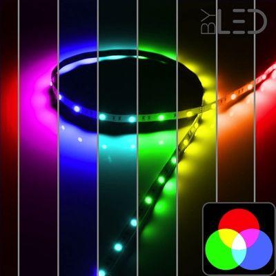Strip IP20 5050 RGB - 7,2W à 14,4W/m