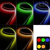 Ruban IP20 3528 - Couleur 4,8W/m - 60 LED/m - 5m
