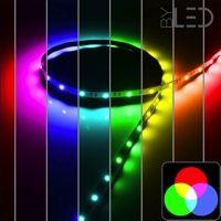 Ruban IP68 5050 - RGB - de 7,2W à 14,4W/m - 5m