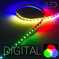 12V - Strip IP20 5050 - RGB digital - 14,4W/m