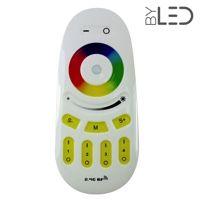 Télécommande 4 zones RGB & RGB + blanc 2.4 GHz - Milight FUT096