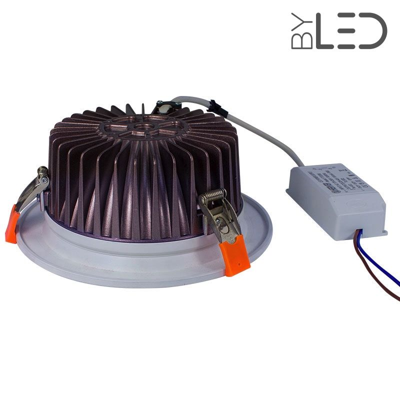 spot 30 watts encastrable plafond led chip on board. Black Bedroom Furniture Sets. Home Design Ideas