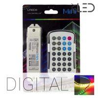 Kit télécommande radio pour ruban LED RGB Digital