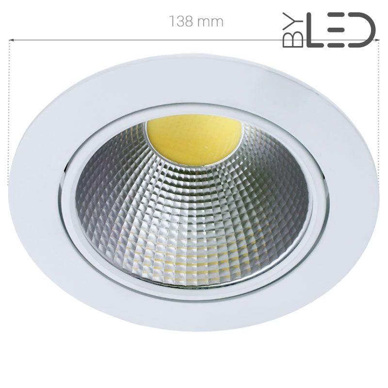 spot led 20 watts orientable et encastrable cobra. Black Bedroom Furniture Sets. Home Design Ideas