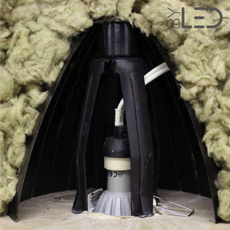 protection spot encastrable laine de verre souffle fabulous luisolation phonique du plafond. Black Bedroom Furniture Sets. Home Design Ideas