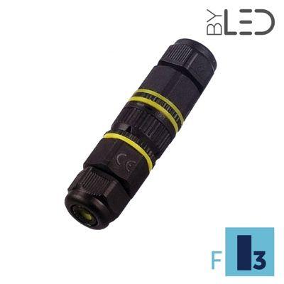 Connecteur droit Rapide de jonction étanche IP68 - Axial