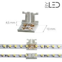 Jonction étroite pour ruban LED Mono 8 mm Plugg IP20