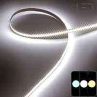 Ruban IP20 3014 - Blanc - 19,2 W/m - 204 LED/m - 5m