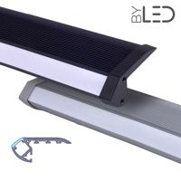 Profilé aluminium marches escaliers pour ruban LED - CRAFT - S02