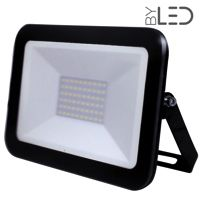 Projecteur LED ultra plat 50W Noir - Shape
