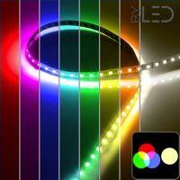 Ruban IP65 5050 - RGB + Blanc chaud - 19,2W/m - 5m