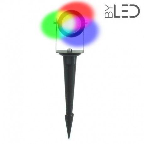 Spot LED à piquer 3 W - Spike 3 - RGB