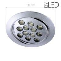 Spot LED encastrable orientable 12W - Focus 12