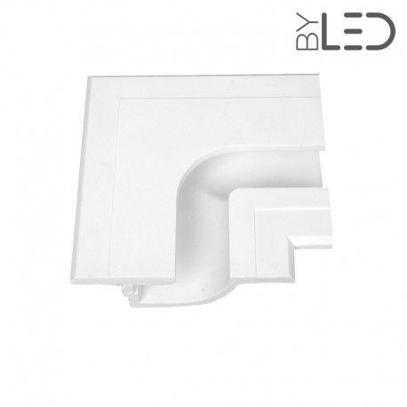 Profil linéaire d'angle extérieur en plâtre pour ruban LED STAFF