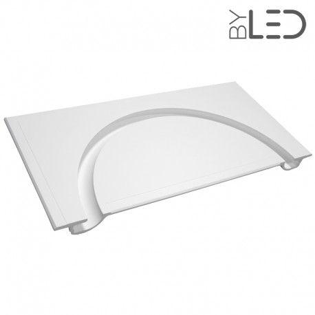 Profil arrondi demi cercle en plâtre pour ruban LED – STAFF