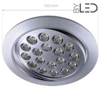 Spot LED encastrable 18W - Focus 18