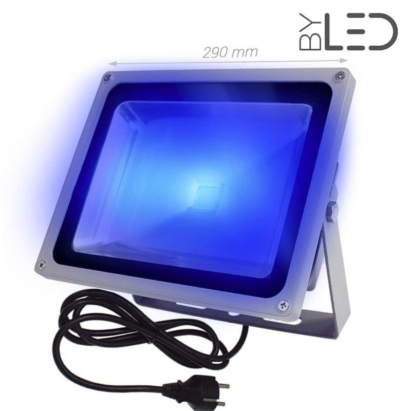 Projecteur led ext rieur puissant et en couleur 50 watts - Projecteur led couleur exterieur ...