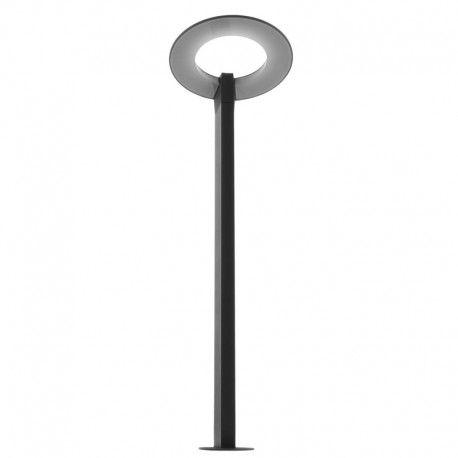 Borne de jardin LED 80 cm - Gris anthracite - 10W - Eclairage Jardin