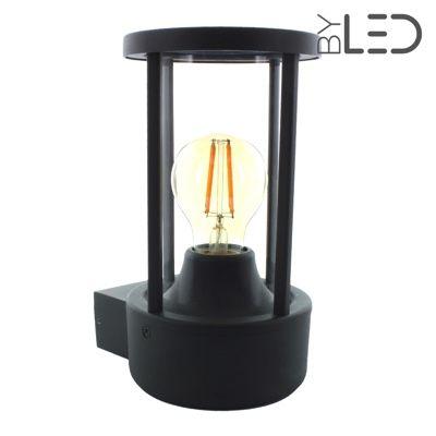 Applique d'extérieur détecteur de mouvement- Lanterne Murale Moderne - E27 LED