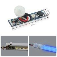Détecteur de mouvement + temporisation pour profilé ruban LED