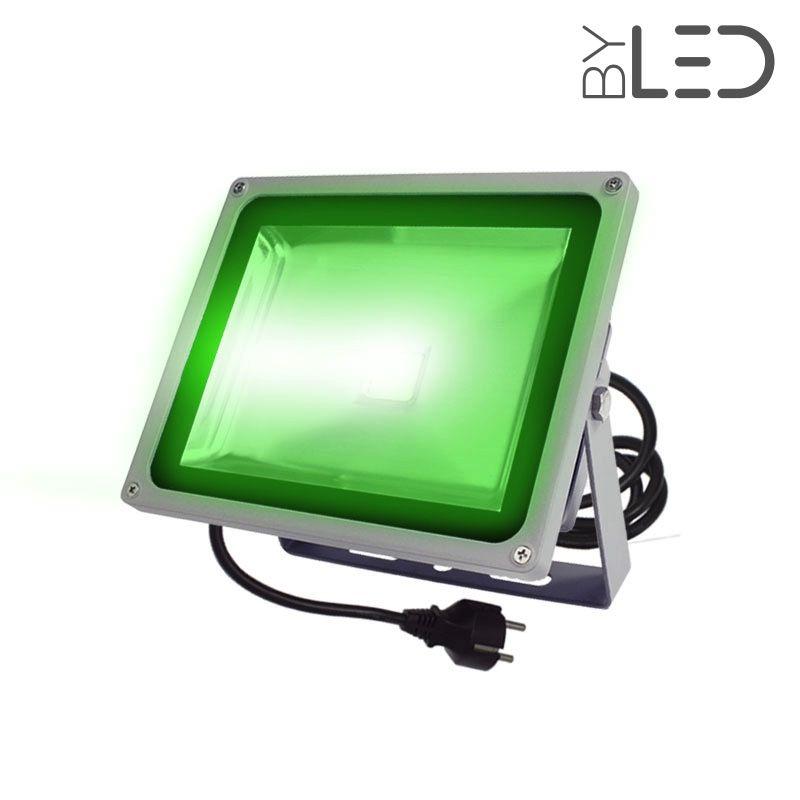 Projecteur led de couleur d 39 ext rieur 30 watts byled - Projecteur led couleur exterieur ...