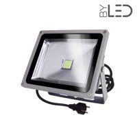 Projecteur LED 230V 30 W - Titan 30 Blanc