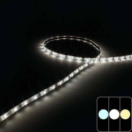 Mini ruban IP65 3528E - Blanc - 4,8W/m - 60 LED/m - 5m