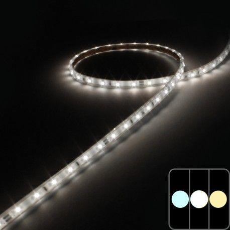 Mini ruban IP68 3528E - Blanc - 4,8W/m - 60 LED/m - 5m
