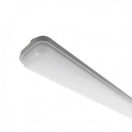 Réglette LED étanche 48W - IP65 - IK08 - Proof - 1468 mm