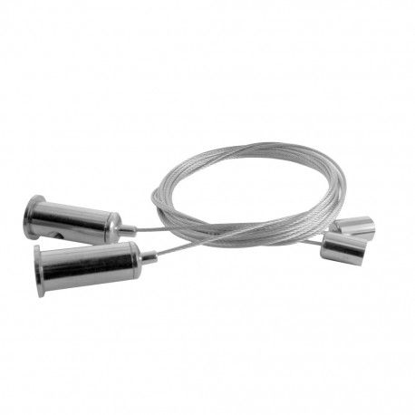 Câbles de suspension pour profilé (la paire) - U01