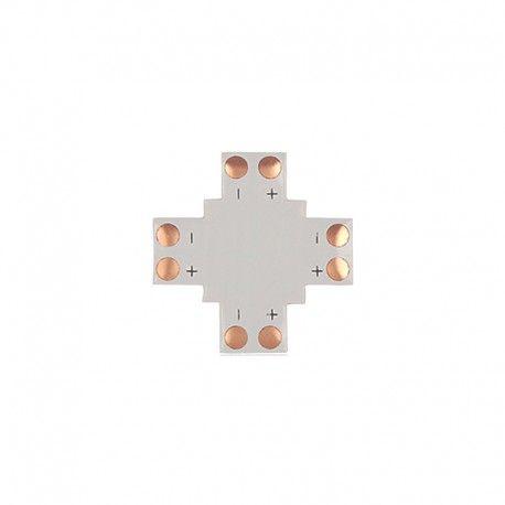 Connecteur en X à souder pour ruban LED