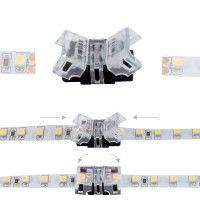 Jonction rapide ruban LED Mono IP20 8 mm - 2p