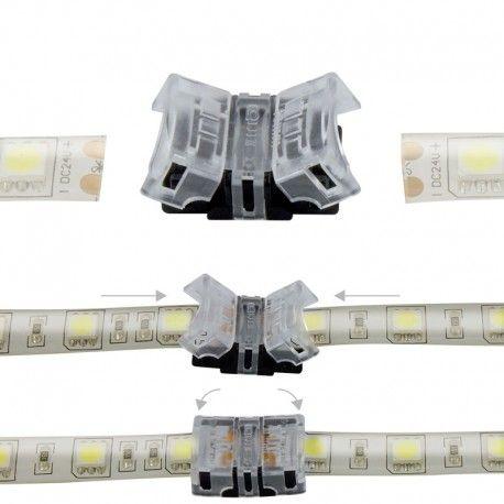 Jonction rapide ruban LED Mono IP65 10 mm - 2p