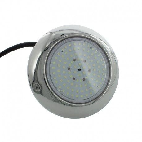 Projecteur piscine plat inox 150mm - CW –15W – 12VAC/DC – IP68