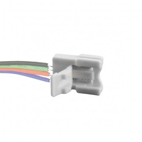 Connecteur ruban LED RGB 10MM Click à sertir