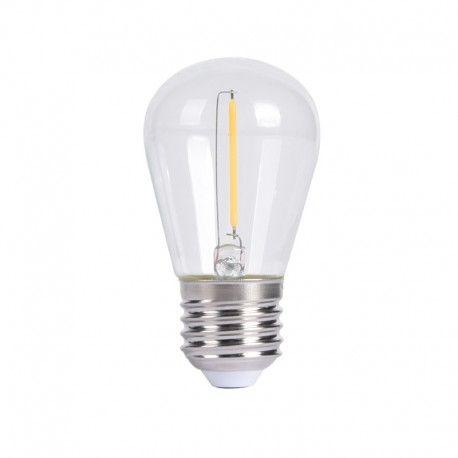 Ampoule LED à filament Mini S14 – E27 – 1W
